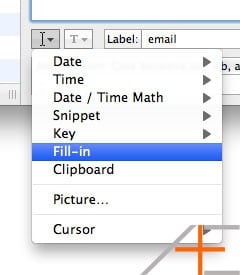 textexpander fill-in