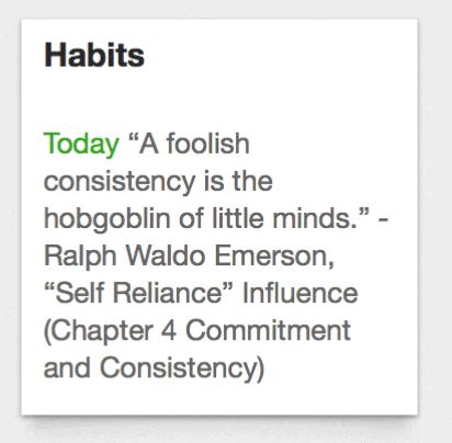 Habits Quote Evernote Example