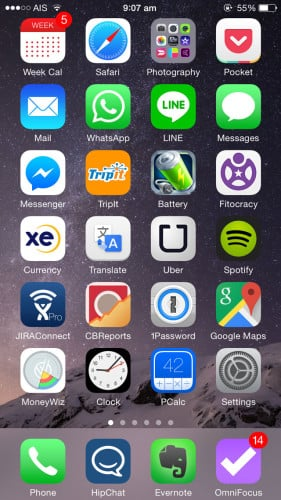 Aaron's Homescreen 01